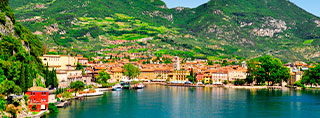 Holiday by the North Italian lakes